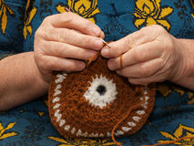 Crocheting Royalty Free Stock Photo