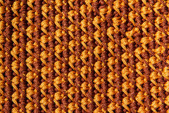 Crocheting pattern Royalty Free Stock Image