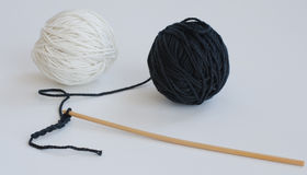 Crocheting Stock Image
