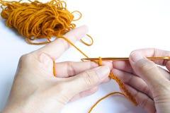 Crocheting Stock Photography