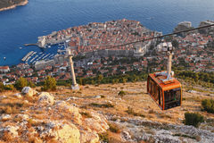 Croácia de Dubrovnik Imagens de Stock Royalty Free