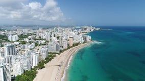 Crociera caraibica Puerto Rico Island Carnival stock footage