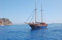 Crociera classica nell'isola della Grecia Fotografia Stock Libera da Diritti