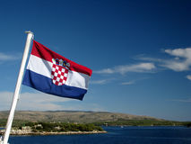 Crociera croata Fotografie Stock