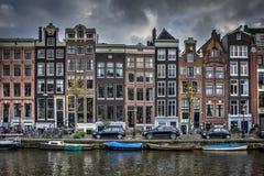 Crociera del canale di Amsterdam fotografie stock libere da diritti