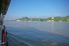 Crociera del fiume di Irrawaddy immagine stock libera da diritti