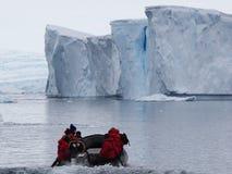Crociera dell'Antartide Fotografia Stock