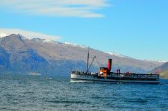 Crociera della nave a vapore di Queenstown Fotografia Stock