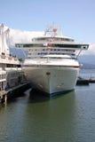 Crociera nel porto di Vancouver Fotografia Stock