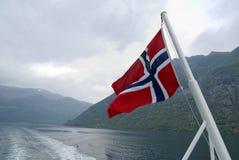 Crociera norvegese Immagini Stock