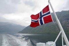 Crociera norvegese Fotografia Stock Libera da Diritti
