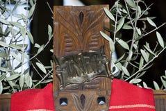 Crocifissione di Jusus Cristo Fotografia Stock Libera da Diritti