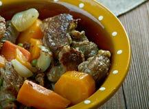 Crock pot Beef Stew Royalty Free Stock Photo