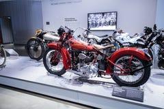 1936年Crocker V双摩托车 图库摄影