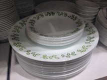 Crockery design Stock Photo