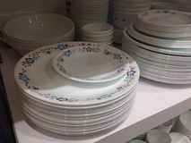 Crockery design Royalty Free Stock Image