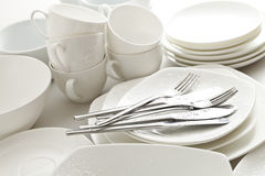 Crockery, kitchen Stock Image