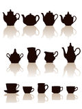 Crockery set. Stock Photo