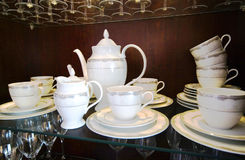 Crockery set Royalty Free Stock Photography