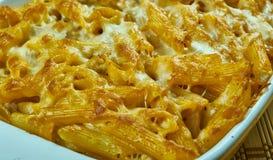 Crockpot pasta Royaltyfri Bild