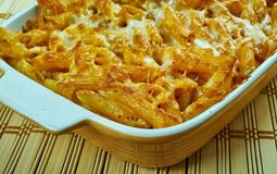 Crockpot pasta Royaltyfria Bilder