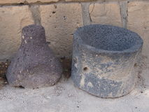 Crocks of the destroyed ancient Carthage Royalty Free Stock Image