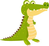 Crocodile illustration stock