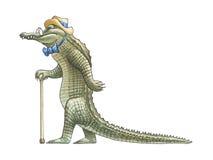 Crocodile_2 Foto de archivo