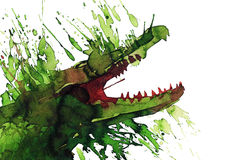 Crocodile Image libre de droits