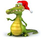 Crocodile. Fun crocodile, 3d generated character royalty free illustration