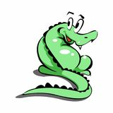 Crocodile cute Royalty Free Stock Photos