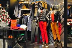 Crocodile apparel outlet, hong kong Stock Images