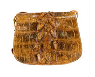 Crocodile bag Royalty Free Stock Photos