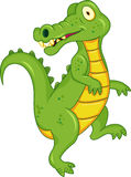 Crocodile cartoon Royalty Free Stock Photography