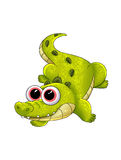 Crocodile cartoon Royalty Free Stock Photo