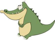 Crocodile. Cartoon Royalty Free Stock Images