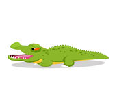 Crocodile so cute Royalty Free Stock Image