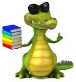 Crocodile d'amusement illustration de vecteur