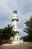 Crocodile Hill Lighthouse, Weizhou Island,China Stock Image