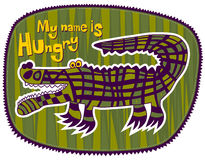 Crocodile Hungry Stock Photo