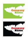Crocodile logo. Crocodile or alligator company logo Stock Image