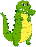 A crocodile mascot Stock Photography