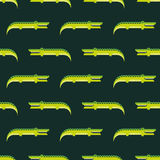 Crocodile pattern Royalty Free Stock Photo