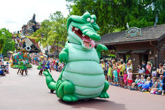 Crocodile From Peter Pan Royalty Free Stock Image