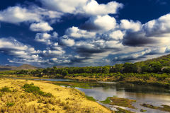 Crocodile River, South Africa Royalty Free Stock Image