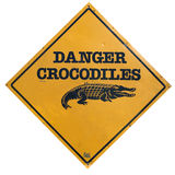 Crocodile Sign Royalty Free Stock Images