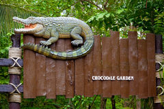 Crocodile sign Royalty Free Stock Image