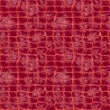 Crocodile skin. Seamless square piece of high-quality crocodile skin texture Stock Image