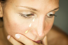 Crocodile tears Royalty Free Stock Photo