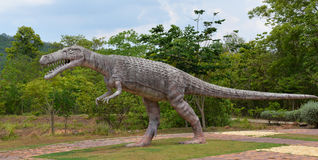 Crocodilia dinosaur Royalty Free Stock Photos